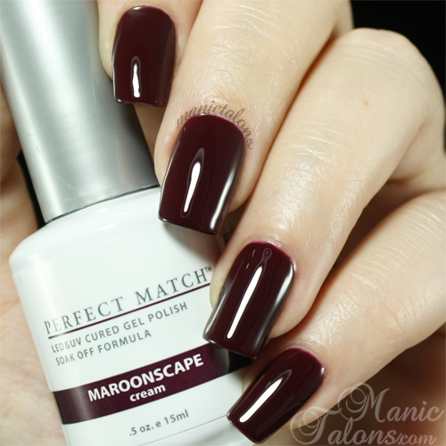 LeChat Maroonscape Swatch