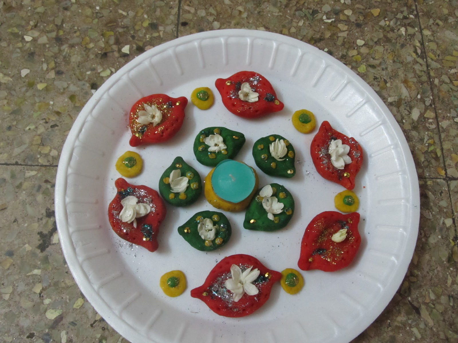 creative ideas: Aarthi plates