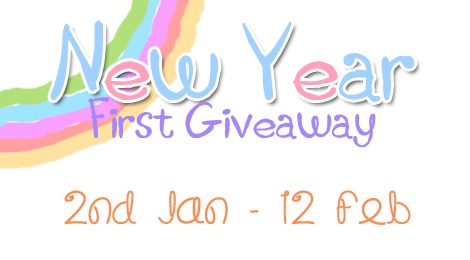 New Year First Giveaway