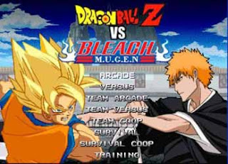 Game Dragon Ball Z vs Game Bleach Mugen PC Game