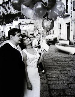 El paseo de Clark Gable y Sophia Loren