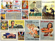 World War II Homefront Memory Collage
