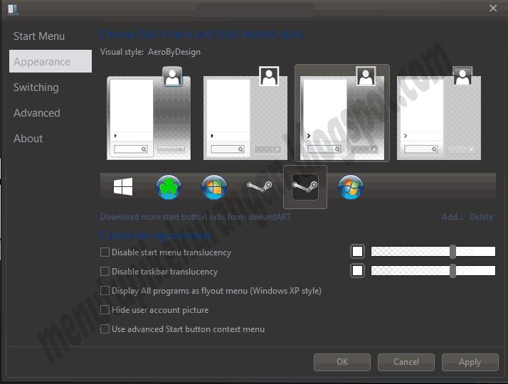 http://menutupikekurangan.blogspot.com/2015/02/cara-merubah-tampilan-start-menu.html