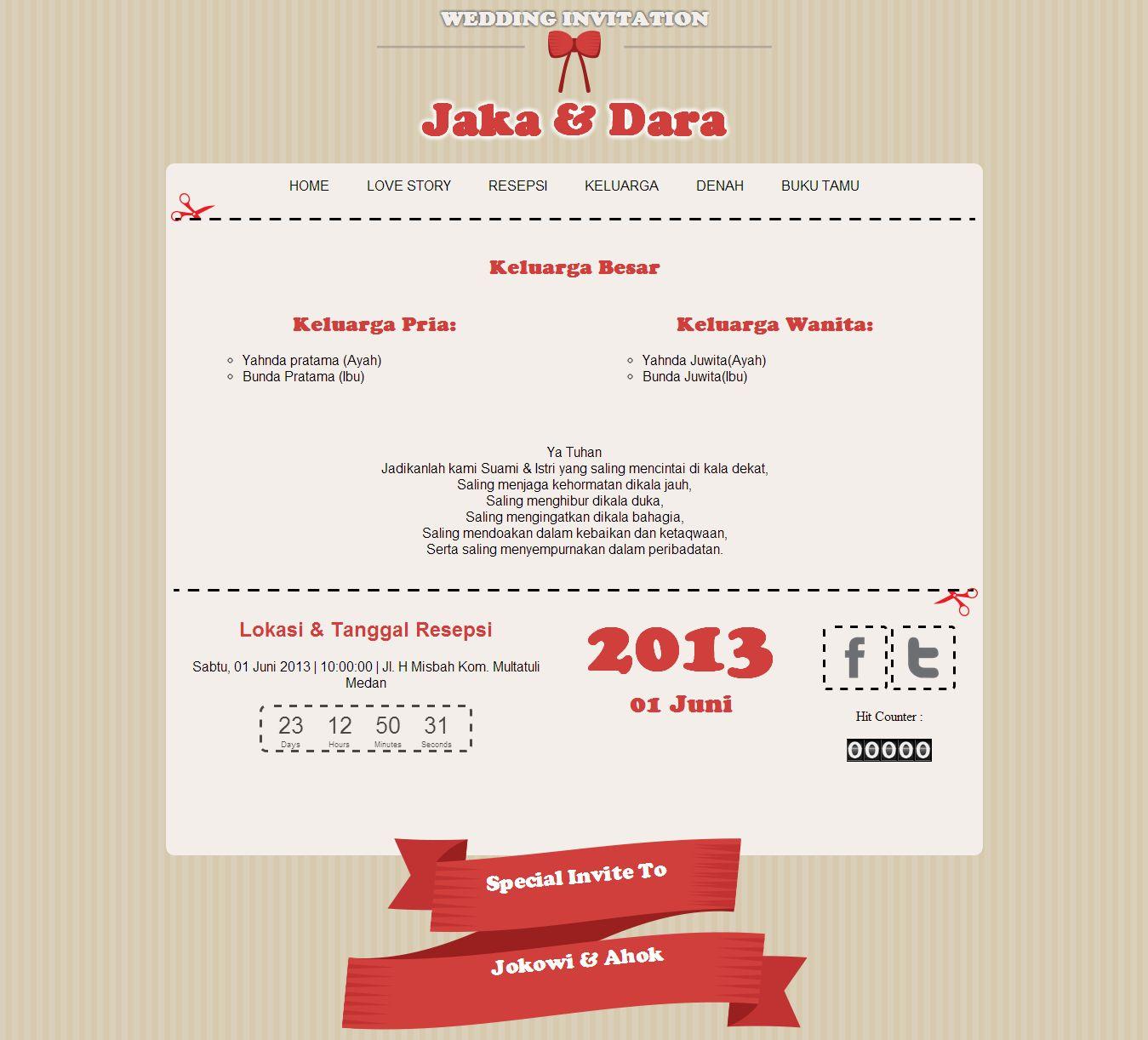 Undangan pernikahan online theme undangan pernikahan online