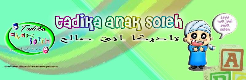 TADIKA ANAK SOLEH