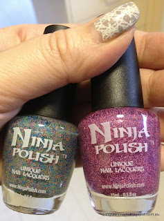 Ninja Polish Pinkerbell and Girly Floam