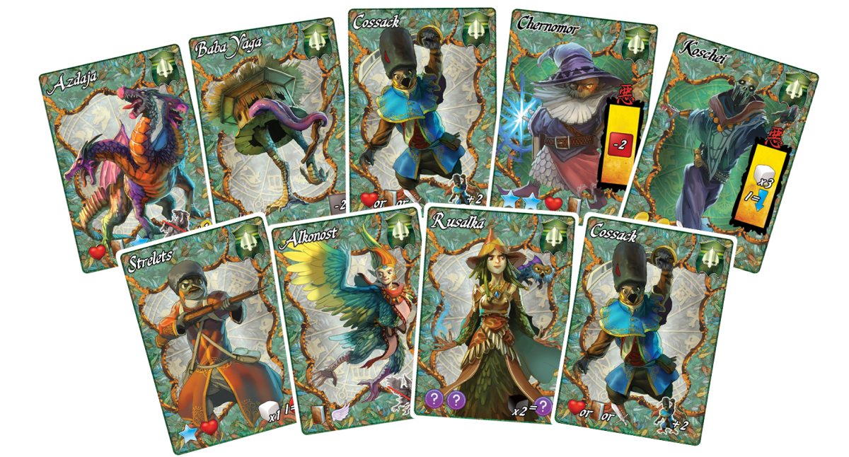 12 Realms Mage Ancestors legacy Kievan Empire cards