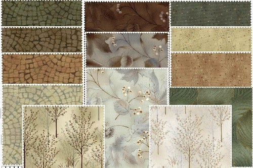 Gabbi Abbi May Quilt Kit U Taupe Ia Amp Serenity Basics