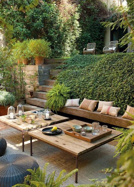 jardin, extérieur, pinterest, bullelodie