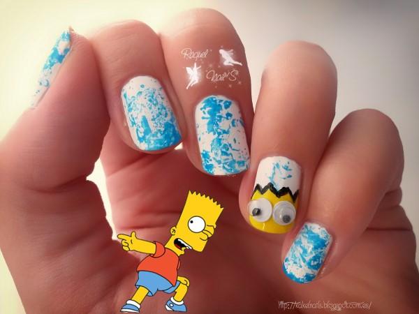 Nails Bart Simpsons