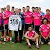 Florentino Pérez entregó a Cristiano Ronaldo una camiseta por sus 300 goles