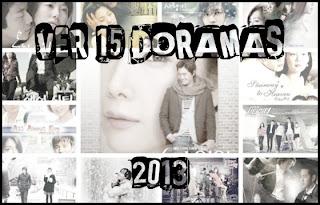 Reto 2013: Ver 15 doramas