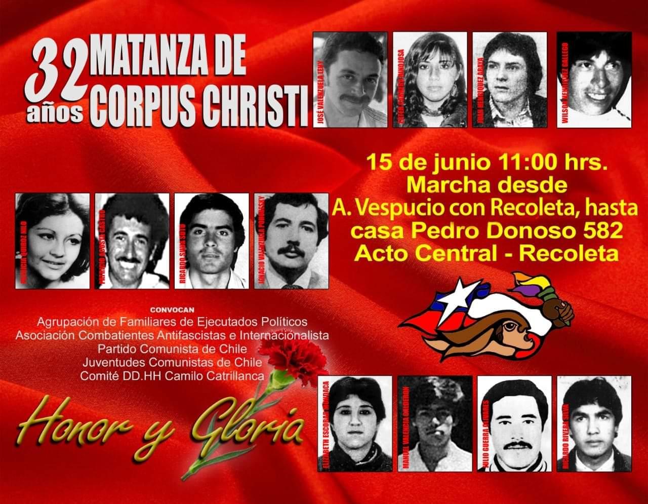 32 AÑOS MATANZA DE CORPUS CHRISTI