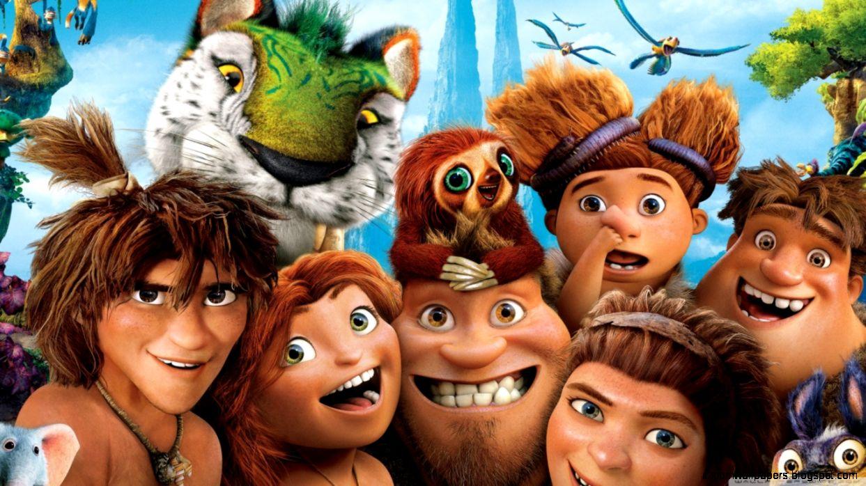 The Croods Characters HD desktop wallpaper  Widescreen  High