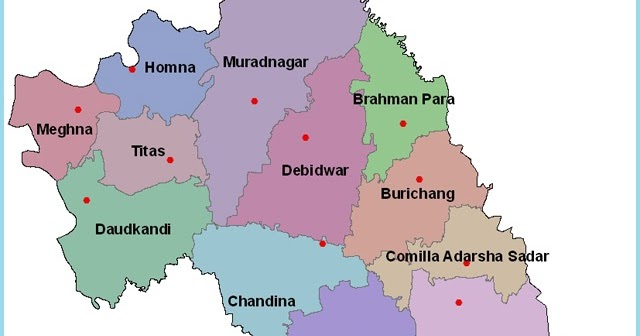 Homna Comilla Total 16 Upazilas under Comilla district