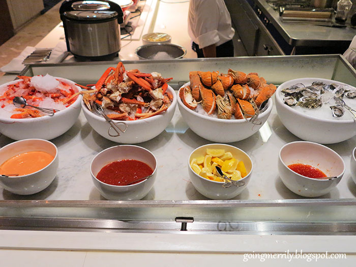 seafood buffet menu