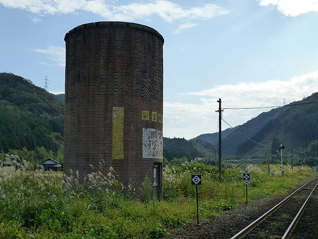 山口線 篠目駅 給水塔