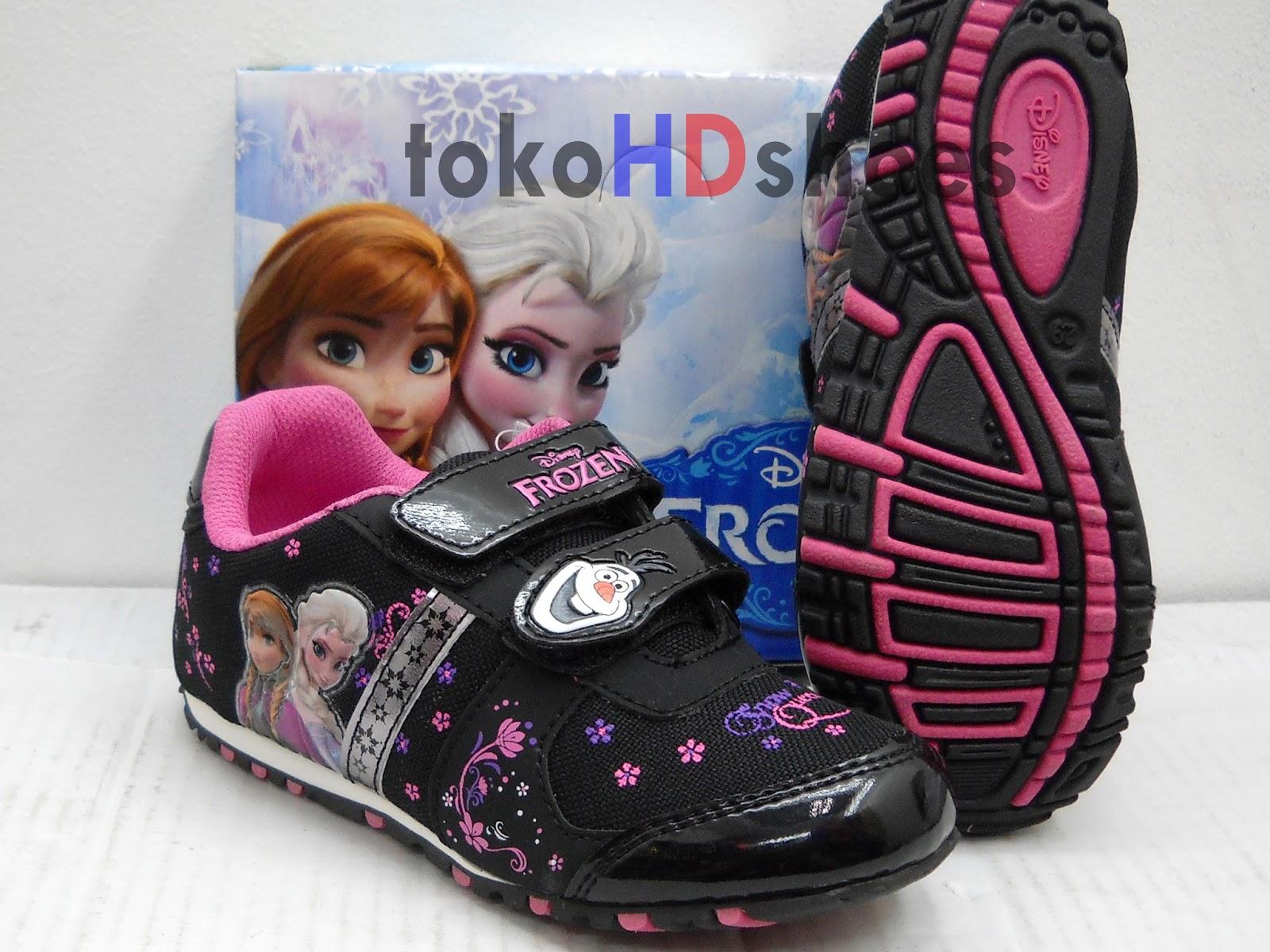 Sepatuanak Anaklucu 15 Model Sepatu Frozen Anak Warna Pink Perempuan Gambar