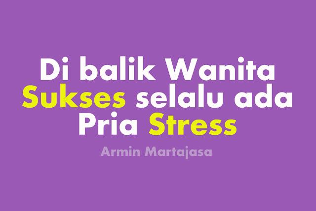 wanita sukses Pria Stress