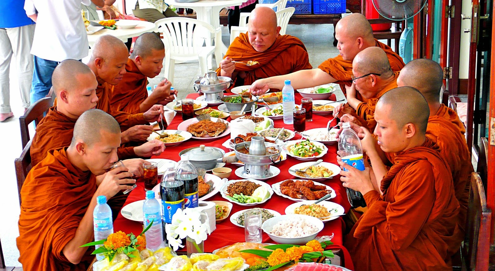 feast for monks