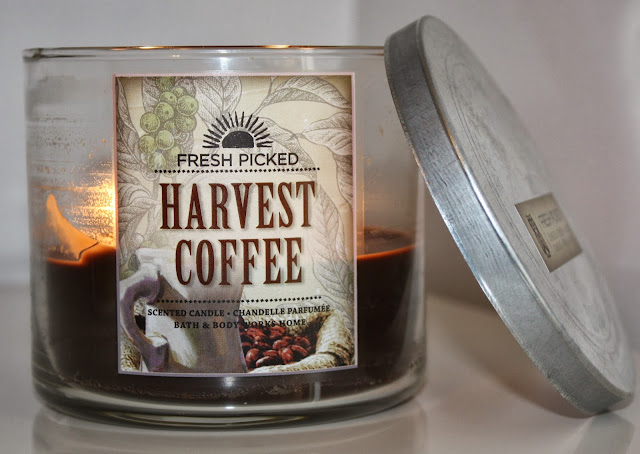 Bath and Body Works Harvest Coffee Candle