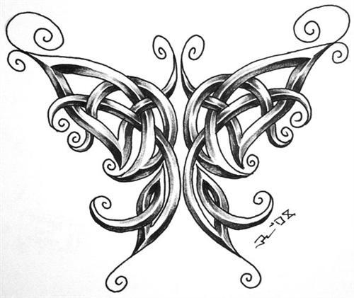 Excelentes diseños de dibujos celtas ~ Fotos de Tatuajes