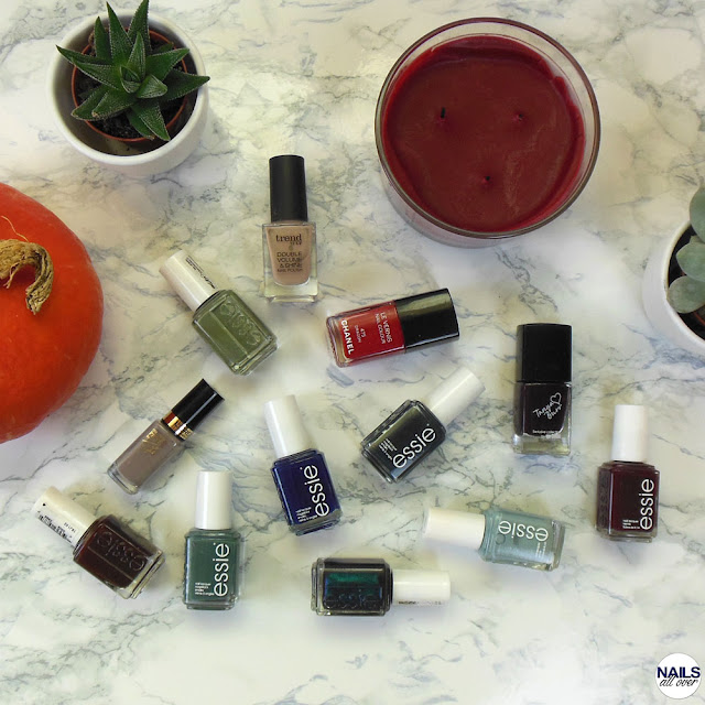 Fall Essentials: Favorite Autumn Nail Polishes Varnishes Lieblings Herbstnagellacke