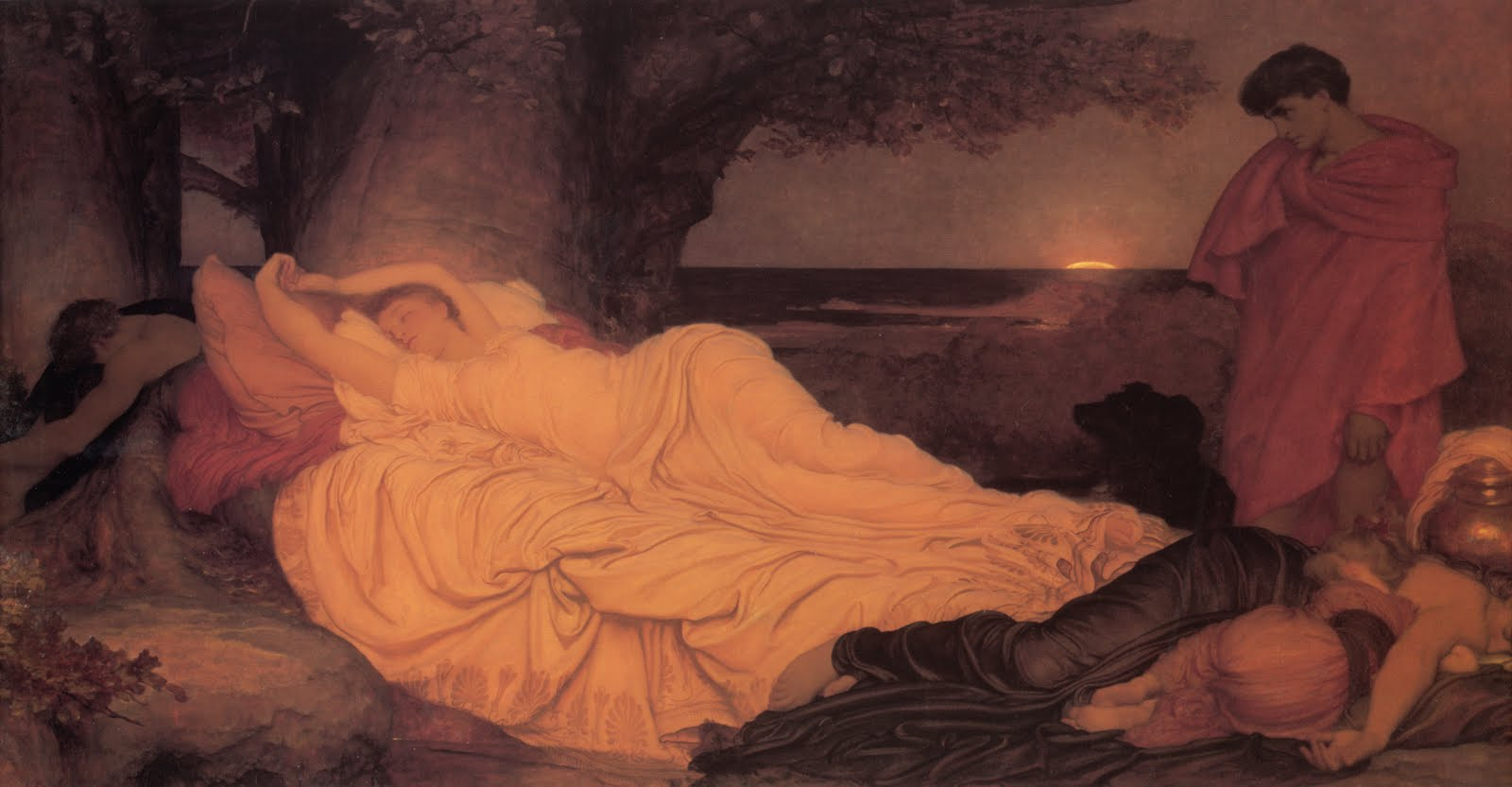 lord frederick leighton painting