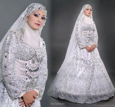 islamic bridal wear 2 Kumpulan Kebaya Pengantin Muslimah Terbaru