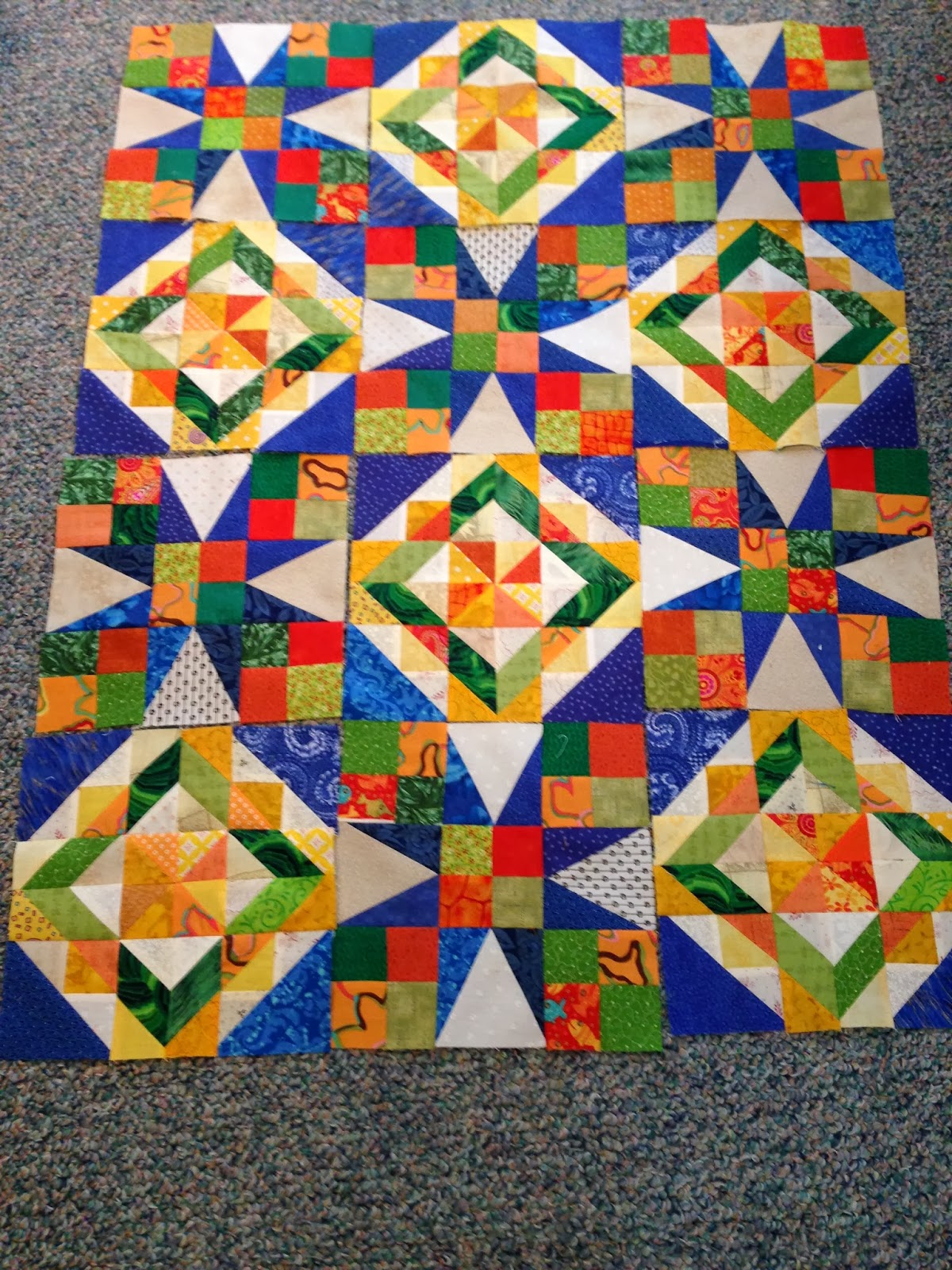 Lala s Lovelys Quilting: Celtic Solstice Mystery quilt up date: