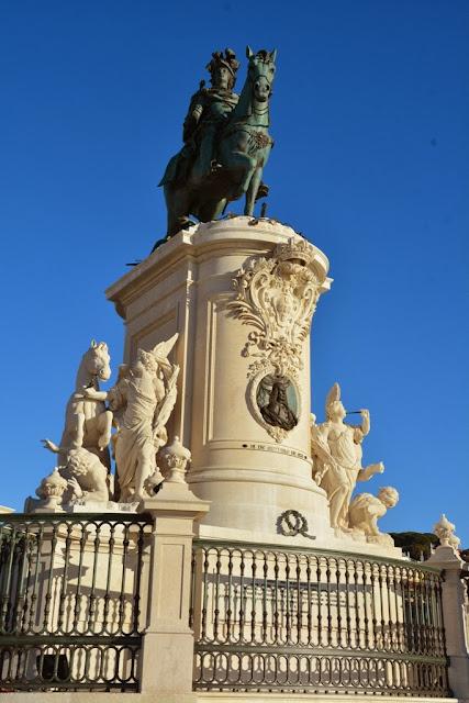 Praça do Comércio, Lisbon King Jose I