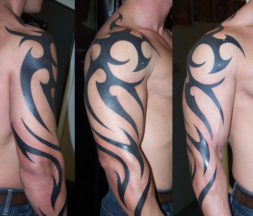 tribal arm tattoo or left right en el Tatuaje Tribales Tribal Tatuajes : brazo