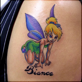 Tinkerbell Tattoos - Tinkerbell tattoo ideas
