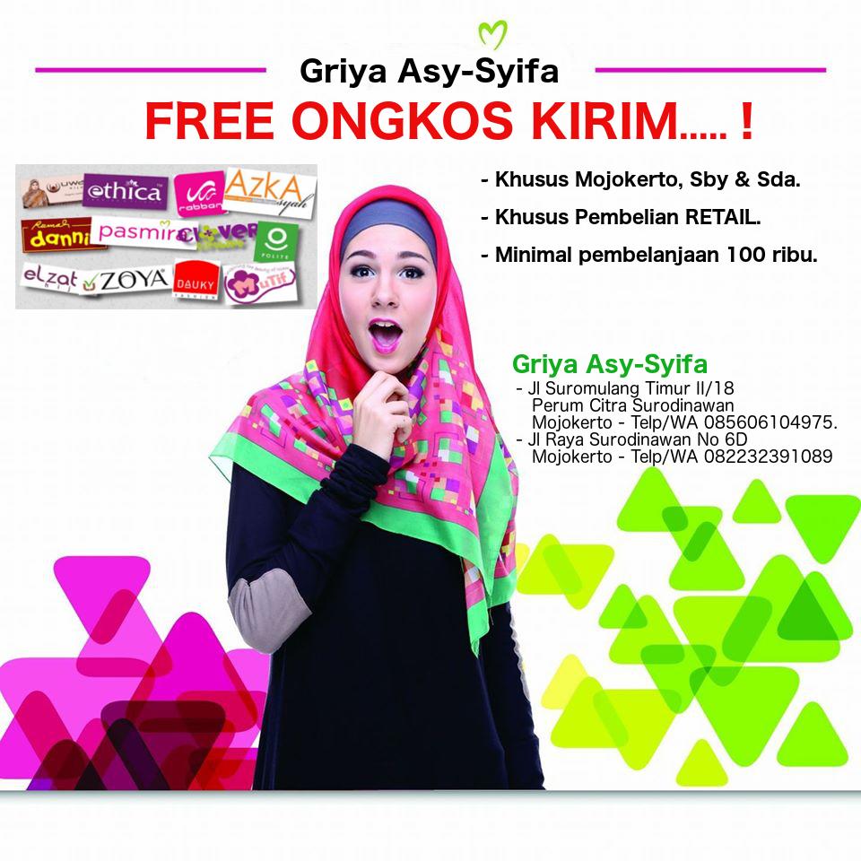 FREE ONGKIR (Mjt, Sby, Sda)