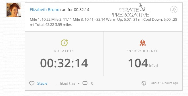 Read about how I turned a crappy Monday into this: My best run times so far.