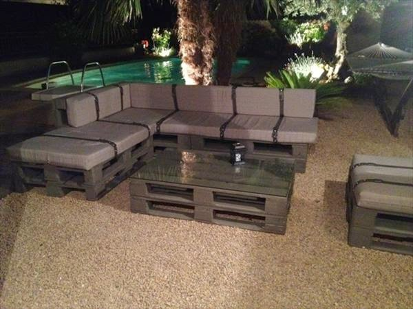 Outdoor Creation 99 Pallet Constructions And Furnitures