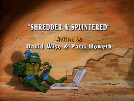 Teenage mutant ninja turtles season 1 episode 5 shredder