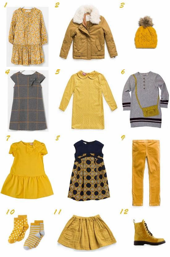 Selección moda infantil tendencia otoño 2013 Pequeña Fashionista