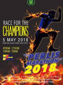 Perlis Marathon 2018 - 5 May 2018