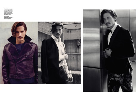 Jarrod Scott by Pat Supsiri for August Man