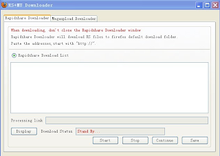 RapidShare+MegaUpload Downloader 2.0.2: Firefox Extension