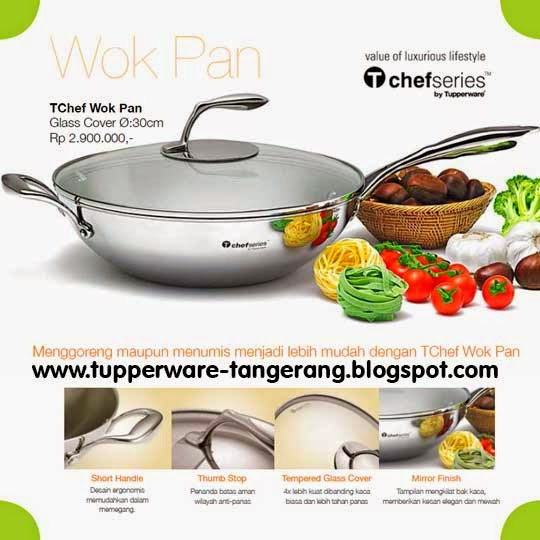 wok pan Tupperware