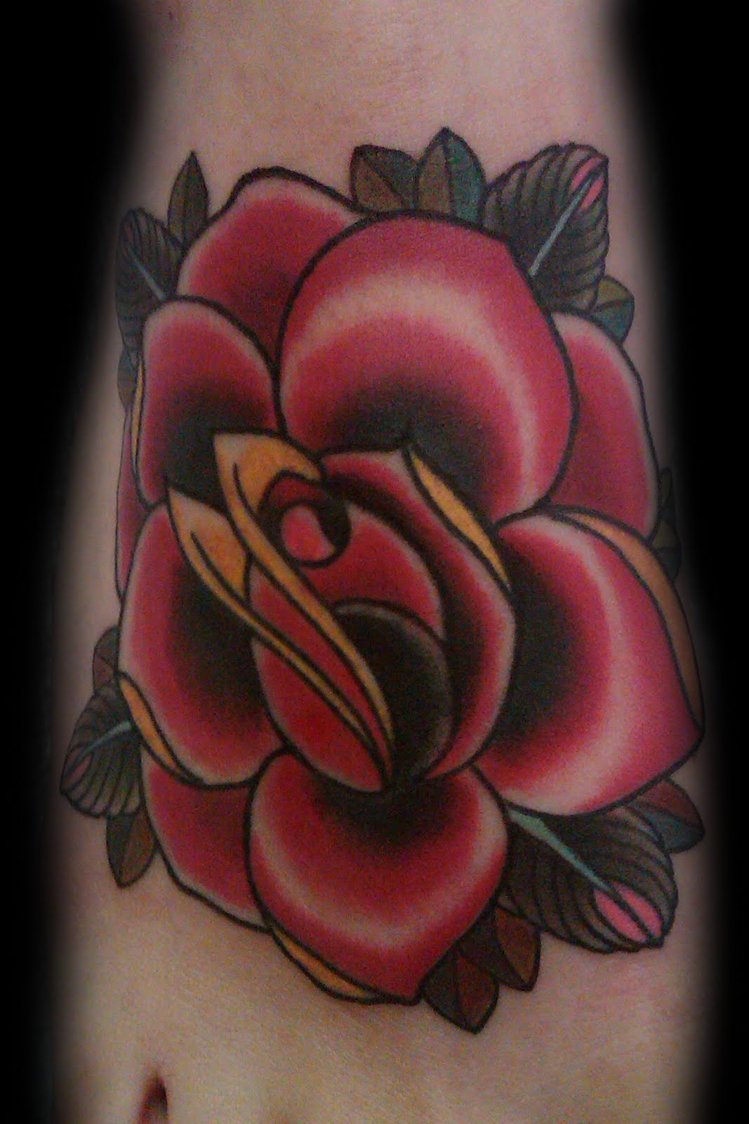 Rose tattoos picture for Rose tattoo patterns
