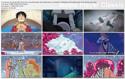 Download Film One Piece Episode 598 (Samurai yang Menebas Api! Kitsunebi no Kinemon!) Bahasa Indonesia