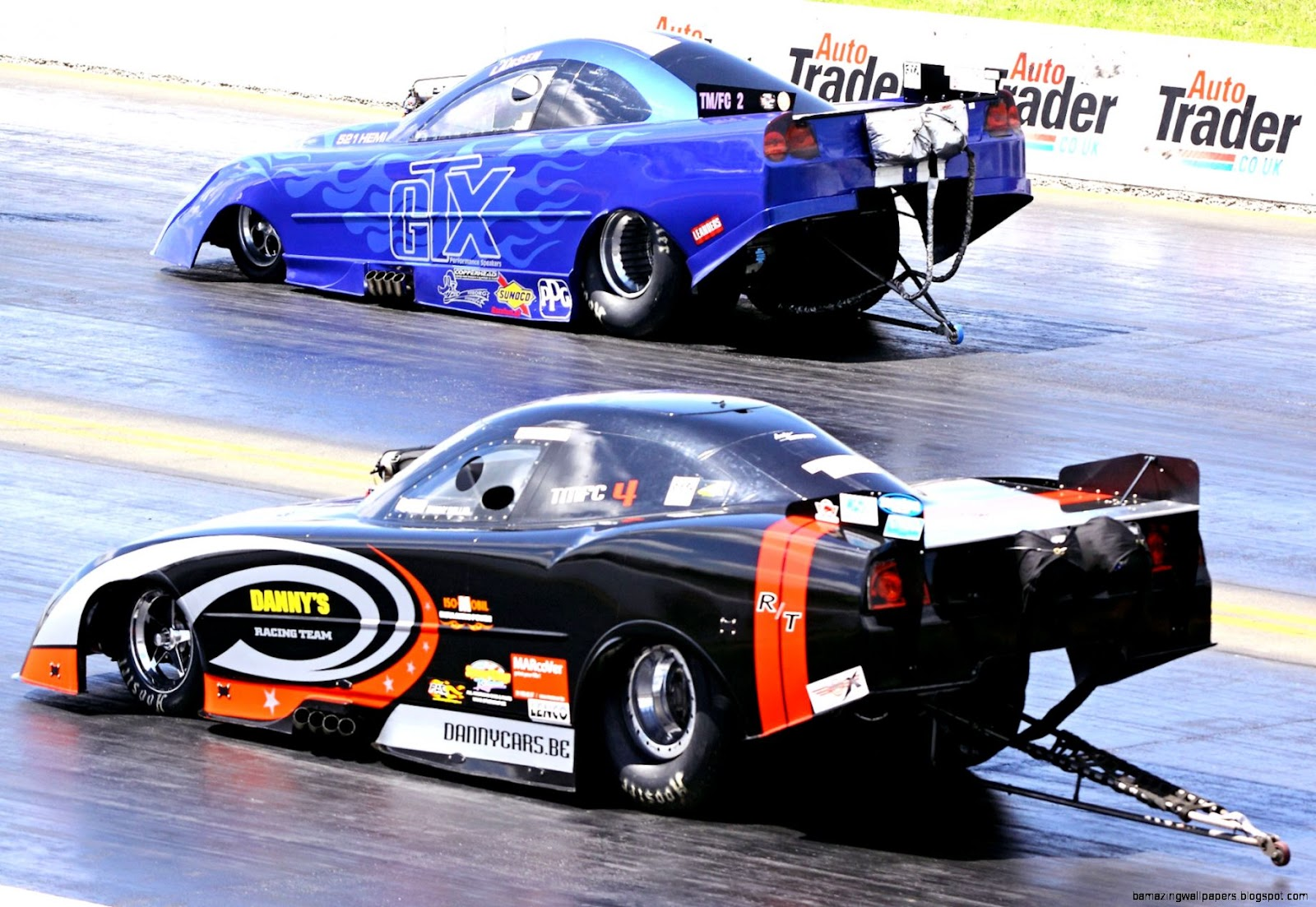 Methanol Top Funny Car
