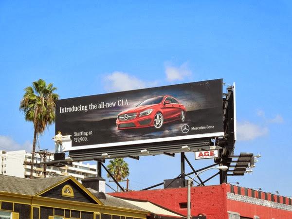 Mercedes Benz ALC special mannequin billboard