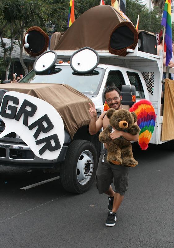 Bear angel WEHO Pride Parade