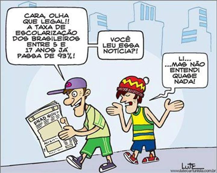 Texto sobre educação brasileira