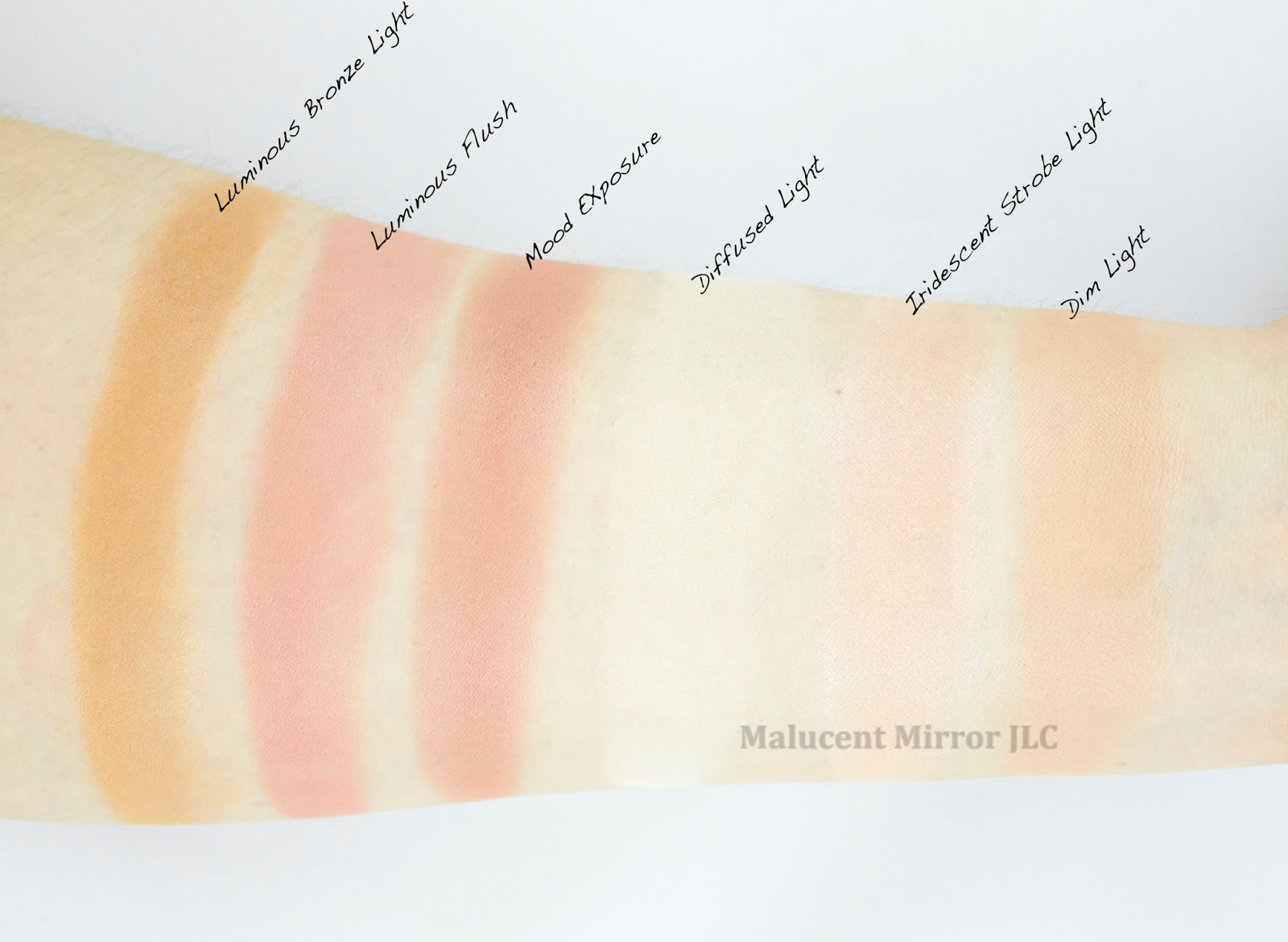 Hourglass Ambient Lighting Edit Swatches, Hourglass Ambient Lighting Edit  Review