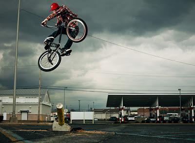 Salto BMX
